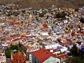 Hillside Town of Guanajuato Mexico Stock Photos