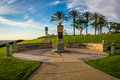 Hilltop Park, in Signal Hill, Long Beach Royalty Free Stock Photo