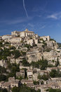 Hilltop village of gordes in provence france Royalty Free Stock Photo