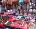 Hilltribe handicrafts, North Thailand Royalty Free Stock Photography