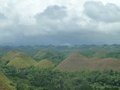 Hilly landscape hills philippines Stock Photo