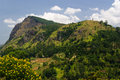 Hilly tropical landscape of central sri lanka Stock Photos
