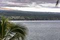The Hilo coast, Big Island, Hawaii Royalty Free Stock Photo