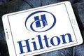Hilton logo Royalty Free Stock Photo