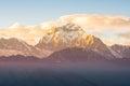 Himalaya beautiful range from nepal Royalty Free Stock Photo