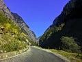 Himalaya himalayas on the way to badhirnath Stock Photos