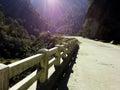 Himalaya himalayas on the way to badhirnath Royalty Free Stock Images