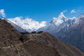 Himalaya mountains landscape from Namche Bazaar view point, Ever