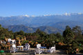 The himalaya mountains range one of good location view nepal Royalty Free Stock Image