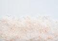 Himalaya salt on bright background Stock Photos