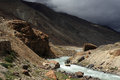 Himalayan mountain stream Stock Photos
