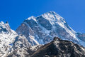 Himalayan peak mountain in the himalayas uttarakhand india Royalty Free Stock Image