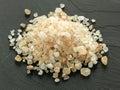 Himalayan pink salt Stock Images