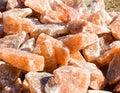 Himalayan Rock Salt Royalty Free Stock Photo