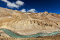 Himalayas landscape himalayan in along manali leh road himachal pradesh india Stock Photography