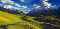 Himalayas mountain in summer time Stock Images