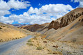 Himalayas mountains the high altitude manali leh road in in ladakh himachal pradesh india Stock Photo