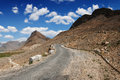 Himalayas the road in mountain Stock Images