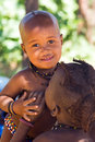 Himba boy Royalty Free Stock Photo
