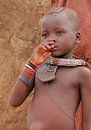 Himba boy, Namibia Royalty Free Stock Images