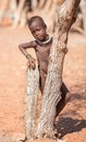 Himba child Royalty Free Stock Photos