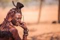 Himba woman Royalty Free Stock Photo