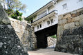 Himeji Castle gate Royalty Free Stock Photo