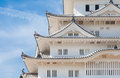 Himeji Castle , A hilltop Japanese castle complex Royalty Free Stock Photo