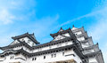 Himeji Castle in Kansai - Japan Royalty Free Stock Photo