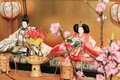 Hina doll Royalty Free Stock Photo