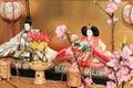 Hina doll Royalty Free Stock Photo