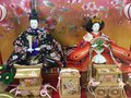 Hina matsuri or doll festival in japan celebrated every household at end of winter Stock Image