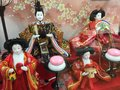 Hina matsuri or doll festival in japan families and communities hold the on march every year to wish good health and future Stock Images