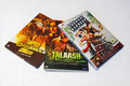 Hindi movie dvd bollywood available for rental Stock Image