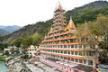Hindu ashram a in rishikesh Royalty Free Stock Photos
