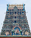 Hindu Balaji temple Stock Photography
