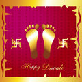 Hindu diwali festival background Royalty Free Stock Photo