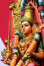 Hindu Goddess Amman Stock Photography