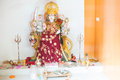 Hindu Goddess Durga statue Royalty Free Stock Photo