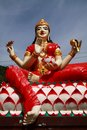 Hindu goddess, Laxmi Stock Photo