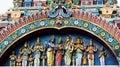 Hindu Gods statues Royalty Free Stock Photo