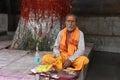 Hindu Mantra Royalty Free Stock Photo