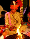 Hindu Marriage Stock Photography