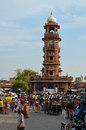 Hindu new year festival clock tower jodhpur ind is the second largest city in the indian state of rajasthan it was formerly the Royalty Free Stock Image