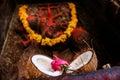 Hindu rituals offering