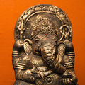 Hindu statue. Royalty Free Stock Photo