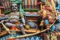 Hindu statues