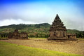 Hindu temple arjuna at wonosobo indonesia Stock Photography