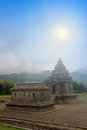 Hindu temple arjuna at wonosobo indonesia Stock Image