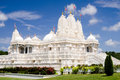 Hindu temple in Atlanta, GA Stock Photos